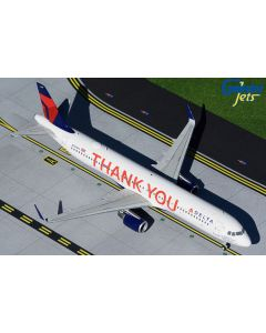 GeminiJets 2DAL925 Delta Airbus A321 'Thank You' 1/200 Scale Diecast Model