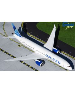 GeminiJets 2UAL881 United Airlines 787-9 New Livery 'N24976' 1/200 Scale Model