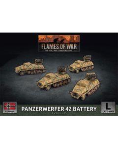 Battlefront GBX165 Panzerwerfer 42 Battery (4 Vehicles) Gaming Miniatures