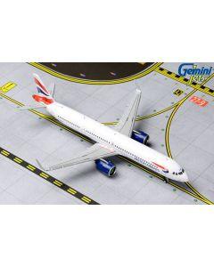 GeminiJets 1836 Gemini British Airways Airbus A321Neo 'G-NEOP' 1/400 Scale Model