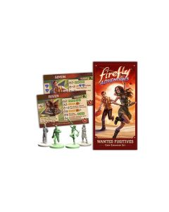 GaleForce nine FADV03 Brigands and Browncoats Expansion Wanted Fugitives