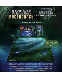 GaleForce nine ST028 Star Trek Ascendancy: Borg Play Mat