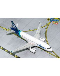 GeminiJets 1851 Alaska Airlines Airbus A319 'N530VA' 1/400 Scale Diecast Model