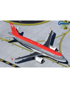GeminiJets 371 Northwest Airbus A320 'N365NW' 1/400 Scale Diecast Model