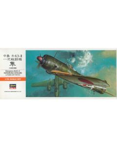 Hasegawa 131 Nakajima Ki43-II 'Oscar' 1/72 Scale Plastic Model Kit