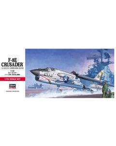Hasegawa 339 Vought F-8E Crusader 1/72 Scale Plastic Model Kit