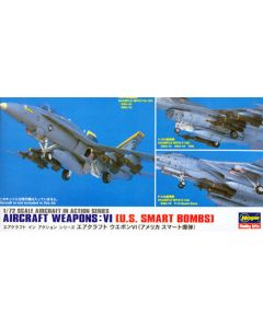 Hasegawa 35011 US Weapons Set VI 1/72 Scale US Smart Bombs