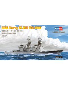 HobbyBoss 82506 US Destroyer Harry W Hill DD-986 1/1250 Scale Plastic Model Kit