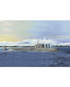 HobbyBoss 83520 Russian Missile Submarine Yuri Dolgoruky 1/350 Scale Model Kit