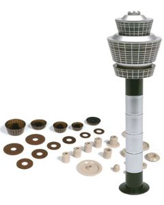Herpa Wings 519670 Airport Tower Set 1/500 Scale Airport Accessory