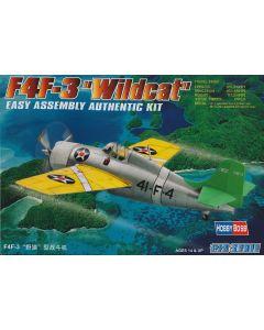 HobbyBoss 80219 Grumman F4F-3 Wildcat 1/72 Scale Plastic Model Kit