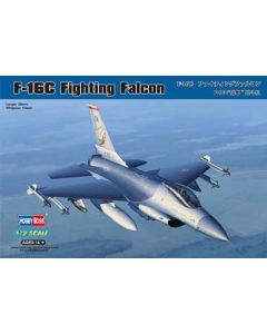 HobbyBoss 80274 Lockheed-Martin F-16C Fighting Falcon 1/72 Scale Model Kit