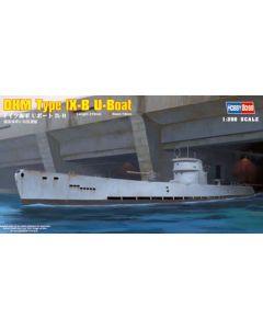 HobbyBoss 83507 German Submarine Type IX-B 1/350 Scale Plastic Model Kit