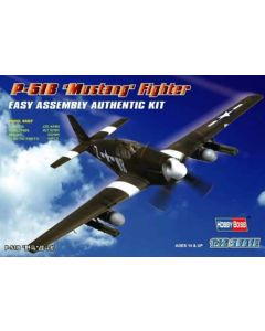 HobbyBoss 80242 North American P-51B Mustang 1/72 Scale Plastic Model Kit