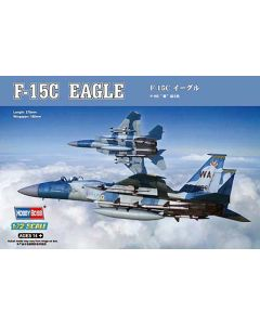 HobbyBoss 80270 F-15C Eagle 1/72 Scale Plastic Model Kit