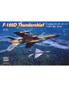 HobbyBoss 80332 Republic F-105D Thunderchief 1/48 Scale Plastic Model Kit