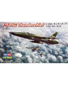 HobbyBoss 80333 Republic F-105G Thunderchief 1/48 Scale Plastic Model Kit