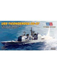 HobbyBoss 82501 US Guided Missile Cruiser Ticonderoga 1/1250 Scale Model Kit