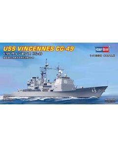 HobbyBoss 82502 US Guided Missile Cruiser Vincennes 1/1250 Scale Model Kit