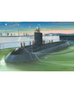 HobbyBoss 83513 US Submarine Virginia SSN-774 1/350 Scale Plastic Model Kit