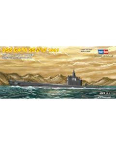 HobbyBoss 87012 US Submarine Gato SS-212 1/700 Scale Plastic Model Kit