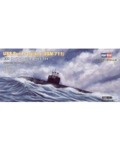 HobbyBoss 87015 US Submarine San Francisco SSN-711 1/700 Scale Plastic Model Kit