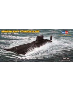HobbyBoss 87019 Soviet Typhoon-Class Submarine 1/700 Scale Plastic Model Kit