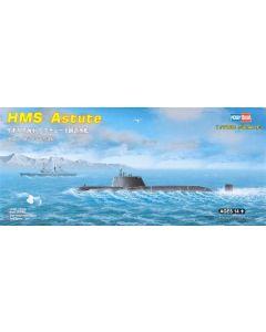 HobbyBoss 87022 British Submarine Astute 1/700 Scale Plastic Model Kit