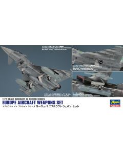 Hasegawa 35115 European Weapons Set for 1/72 Scale Model Aircraft