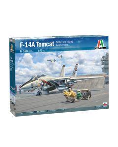 Italeri 1414 F-14A Tomcat '50th First Flight Anniversary' 1/72 Scale Model Kit