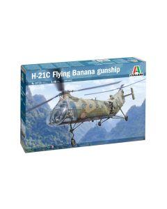 Italeri 2774 Piasecki H-21C 'Flying Banana' Gunship 1/48 Scale Plastic Model Kit