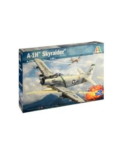 Italeri 2788 A-1H Skyraider 1/48 Scale Model Kit with 4 Different Markings