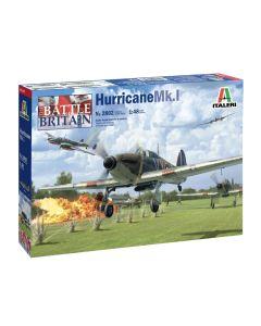 Italeri 2802 Hurricane Mk. I Battle of Britain 1/48 Scale Plastic Model Kit