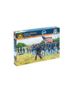 Italeri 6177 Union Infantry American Civil War 1/72 Scale Plastic Model Figures