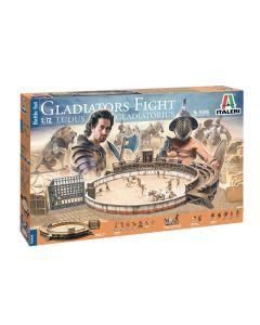 Italeri 6196 Gladiators Fight 'Ludus Gladiatorius' 1/72 Scale Battle Set