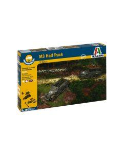 Italeri 7509 M3A1 Half-Track Set of Two 1/72 Scale Plastic Model Kits
