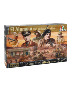 Italeri 6181 El Alamein 'The Railway Station' 1/72 Scale Diorama