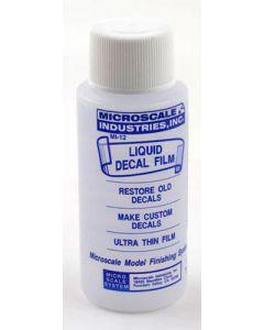 Microscale MI-12 Micro Liquid Decal Film 1 oz (30 ml) Plastic Bottle