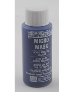 Microscale MI-7 Micro-Mask Liquid Masking Tape 1 oz (30 ml) Plastic Bottle
