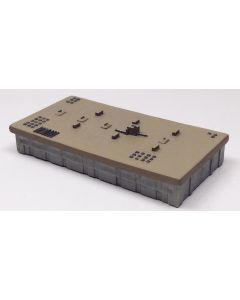 Triton TB31 Wooden Storage Warehouse 80Mm X 50Mm 1/1250 Scale