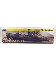 Revell 5103 US Nuclear Powered Cruiser Long Beach Scale Model Kit 17 in Long