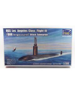Riich Models 28007 US Submarine Los Angeles Flight III 1/350  Scale Model Kit