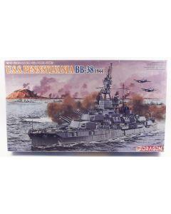 Dragon 7041 US Battleship Pennsylvania 1944 1/700 Scale Plastic Model Kit