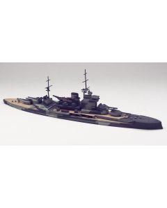 British Battleship Warspite Built-Up Scale Plastic Model Kit 6.5 in Long