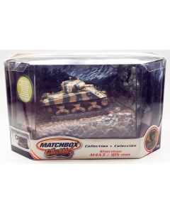 Matchbox Collectibles M4A3(105) Sherman Tank 1/72 Scale Diecast Model & Diorama