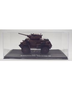 British Humber Armored Car Mk. IV 8th Infantry Division 1/43 Scale Diecast Model