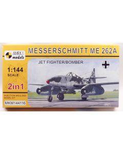 Mark I Models 144116 Messerschmitt Me262A (2 in 1) 1/144 Scale Plastic Model Kit