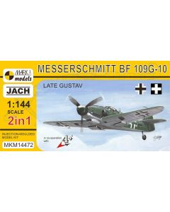 Mark I Models 14472 Bf109G-10 'Late Gustav' (2 in 1) 1/144 Scale Model Kit