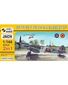 Mark I Models 14489 Spitfire F/FR Mk XIV (2 in 1) 2 1/144 Scale Model Kits