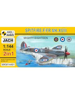Mark I Models 14491 Spitfire F/FR Mk XIII (2 in 1) 2 1/144 Scale Model Kits